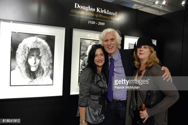 Douglas Kirkland and Eva Zazzaro attend Woolrich John Rich Broís Photo Exhibition with Douglas Kirkland at Bloomingdales on September 16 2010 in New...