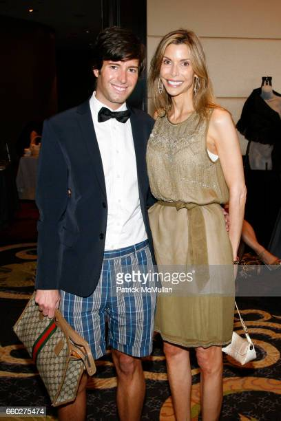 Douglas Marshall and Anna Rhodes Victor attend LITTLE FLOWER's Rose Luncheon Honoring CHRISTINE MERSER at The Mandarin Oriental Hotel on June 8 2009...