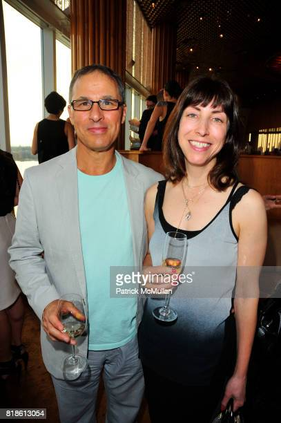 Douglas Maxwell and Hope Greenberg attend CHARLOTTE SARKOZY hosts celebration of BARBARA BUI's visit to New York at the Boom Boom Room at the...