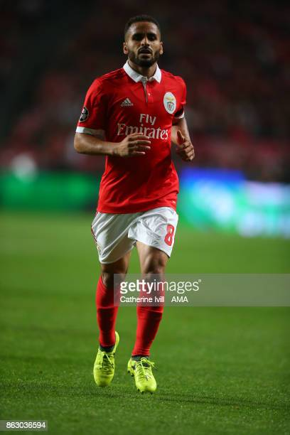 Douglas of Benfica during the UEFA Champions League group A match between SL Benfica and Manchester United at Estadio da Luz on October 18 2017 in...