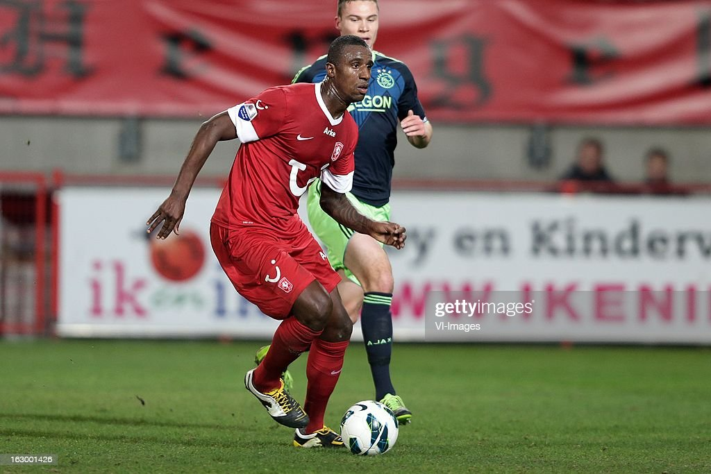 Douglas of FC Twente during the Dutch Eredivisie match between FC Twente and Ajax Amsterdam at the Grolsch Veste on march 02, 2013 in Enschede, The Netherlands