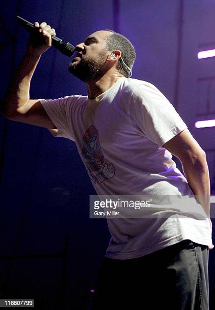 Douglas Vincent Martinez of 311 performs at the Backyard in Austin Texas on July 4 2007