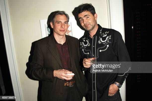 Douglas Wright and Martin Brierley attend Cocktail Party to Celebrate IVAN NAVARRO Representing Chile in the 53rd Venice Biennale hosted by KAREN...