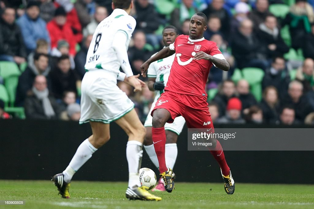 Douglasof FC Twente during the Dutch Eredivisie match between FC Groningen and FC Twente at the Euroborg Stadium on march 17, 2013 in Groningen, The Netherlands