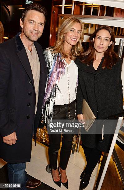 Dougray Scott Kim Hersov and Claire Forlani attend a dinner hosted by PORTER in honour of cover girl Christy Turlington Burns and her charity Every...