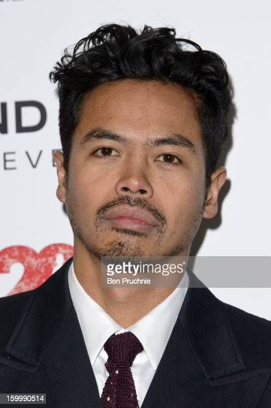Dougy Mandagi of Temper Trap attends the Raymond Weil preBrit Awards dinner and 20th anniversary celebration of War Child at The Mosaica on January...