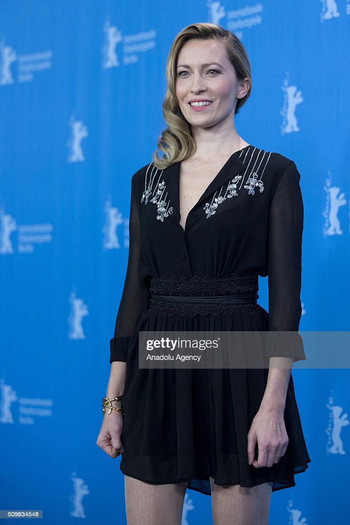 Dounia Sichov attends the 'Boris without Beatrice' (Boris sans Beatrice) photo call during the 66th Berlinale International Film Festival Berlin at Grand Hyatt Hotel on February 12, 2016 in Berlin, Germany.