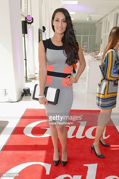 Dounia Slimani attends the Gala Fashion Brunch at Ellington Hotel on July 11 2014 in Berlin Germany