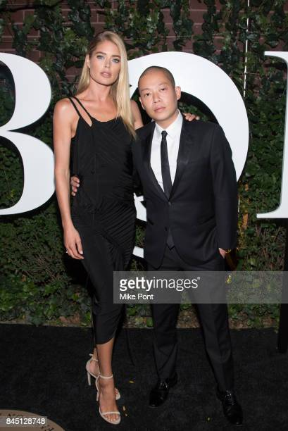 Doutzen Kroes and Jason Wu attend the 2017 BoF 500 Gala at Public Hotel on September 9 2017 in New York City