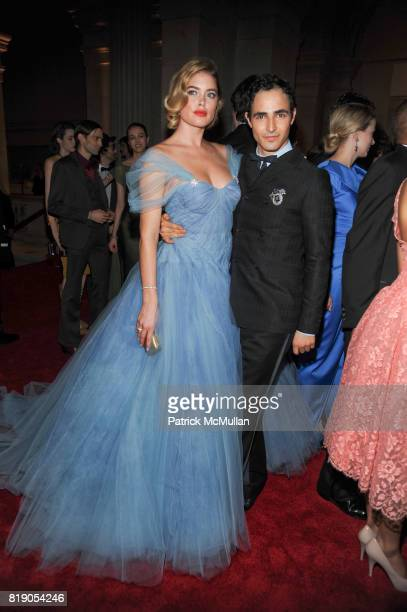 Doutzen Kroes and Zac Posen attend THE METROPOLITAN MUSEUM OF ART'S Spring 2010 COSTUME INSTITUTE Benefit Gala at THE METROPOLITAN MUSEUM OF ART on...