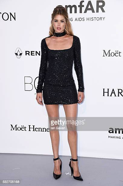 Doutzen Kroes arrives at amfAR's 23rd Cinema Against AIDS Gala at Hotel du CapEdenRoc on May 19 2016 in Cap d'Antibes France
