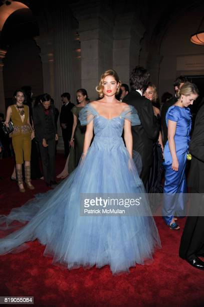 Doutzen Kroes attend THE METROPOLITAN MUSEUM OF ART'S Spring 2010 COSTUME INSTITUTE Benefit Gala at THE METROPOLITAN MUSEUM OF ART on May 3rd 2010 in...