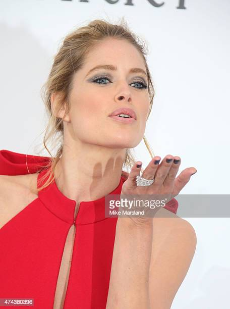 Doutzen Kroes attends amfAR's 22nd Cinema Against AIDS Gala Presented By Bold Films And Harry Winston at Hotel du CapEdenRoc on May 21 2015 in Cap...