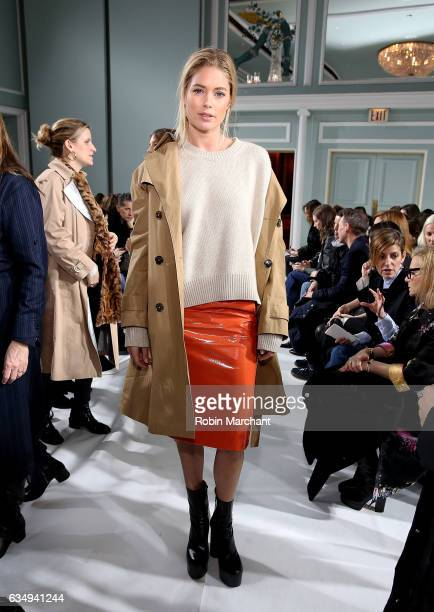 Doutzen Kroes attends Sies Marjan during New York Fashion Week on February 12 2017 in New York City
