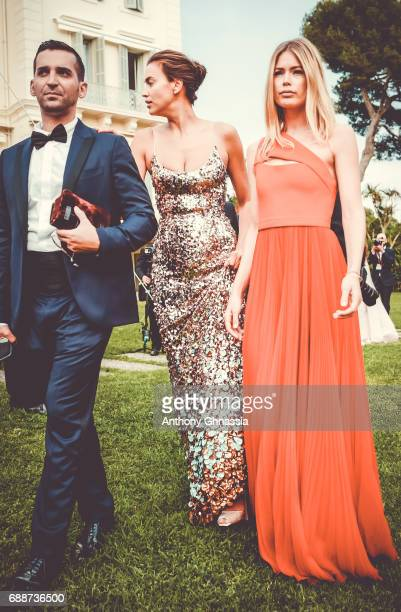 Doutzen Kroes attends the amfAR Gala Cannes 2017 at Hotel du CapEdenRoc on May 25 2017 in Cap d'Antibes France