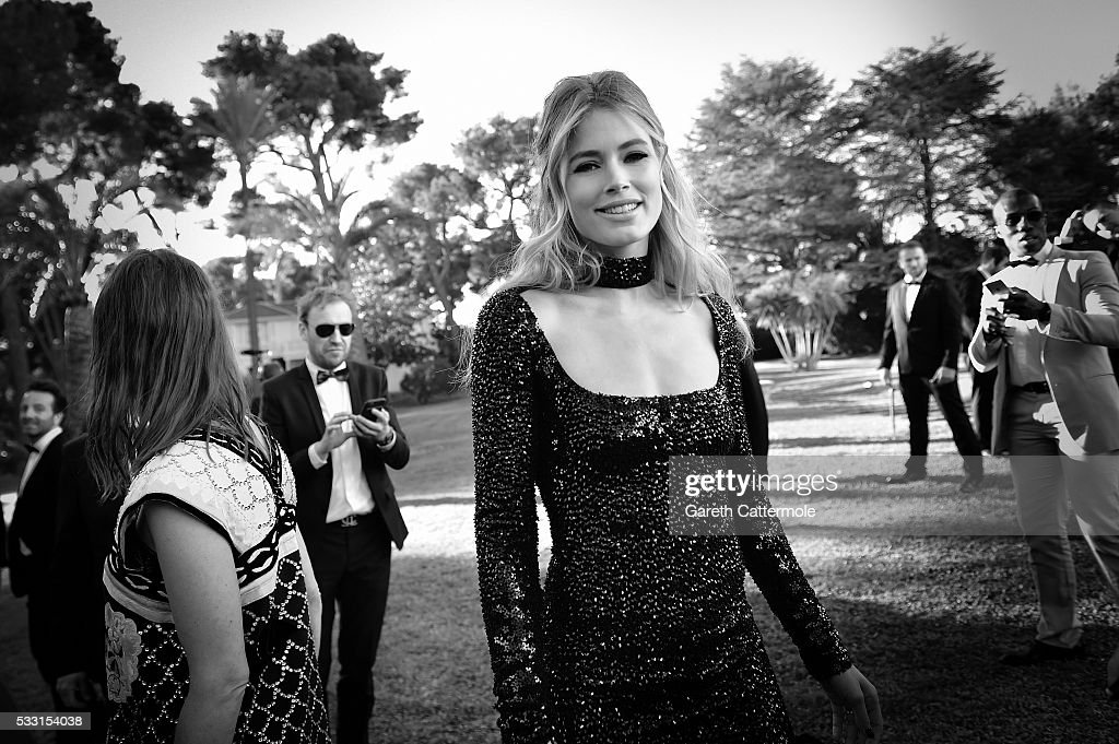 Doutzen Kroes attends the amfAR's 23rd Cinema Against AIDS Gala at Hotel du CapEdenRoc on May 19 2016 in Cap d'Antibes France