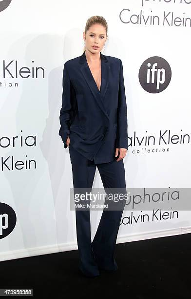 Doutzen Kroes attends the Calvin Klein party during the 68th annual Cannes Film Festival on May 18 2015 in Cannes France