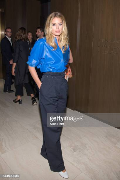 Doutzen Kroes attends the Daily Front Row's Fashion Media Awards at Four Seasons Hotel New York Downtown on September 8 2017 in New York City