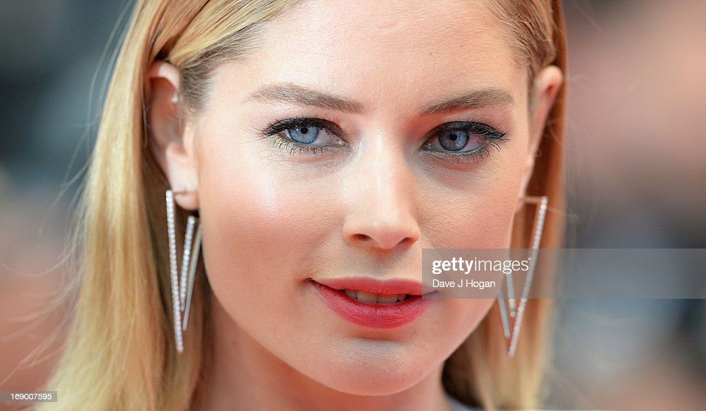Doutzen Kroes attends the 'Jimmy P. (Psychotherapy Of A Plains Indian)' Premiere during the 66th Annual Cannes Film Festival at the Palais des Festivals on May 18, 2013 in Cannes, France.