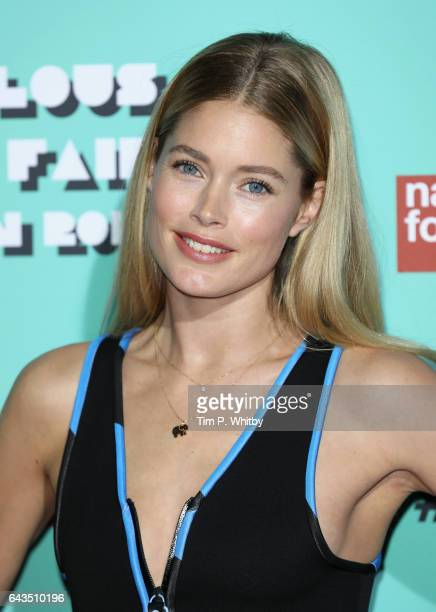 Doutzen Kroes attends The Naked Heart Foundation's London's Fabulous Fund Fair on February 21 2017 in London United Kingdom