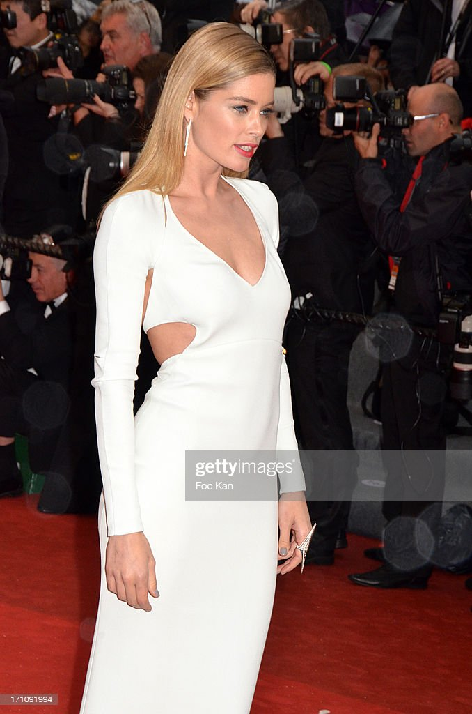 Doutzen Kroes attends the Premiere of 'Jimmy P. (Psychotherapy Of A Plains Indian)' at Palais des Festivals during The 66th Annual Cannes Film Festival on May 18, 2013 in Cannes, France.