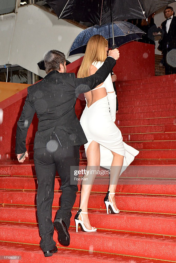<a gi-track='captionPersonalityLinkClicked' href=/galleries/search?phrase=Doutzen+Kroes&family=editorial&specificpeople=859655 ng-click='$event.stopPropagation()'>Doutzen Kroes</a> attends the Premiere of 'Jimmy P. (Psychotherapy Of A Plains Indian)' at Palais des Festivals during The 66th Annual Cannes Film Festival on May 18, 2013 in Cannes, France.
