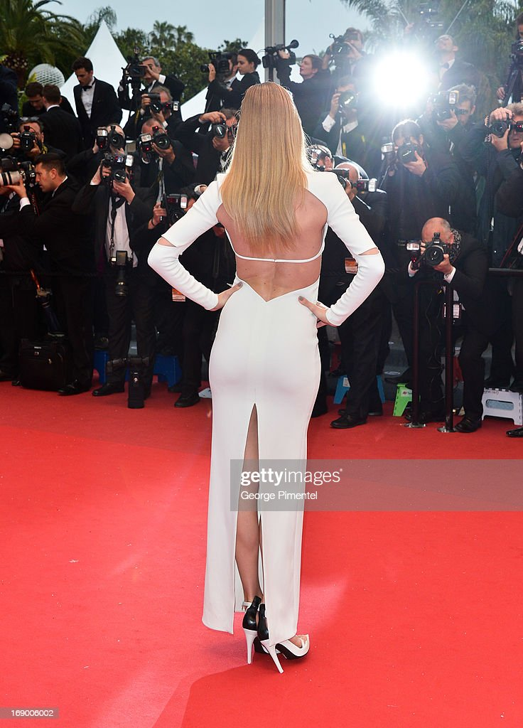 Doutzen Kroes attends the Premiere of 'Jimmy P ' at The 66th Annual Cannes Film Festival on May 18 2013 in Cannes France