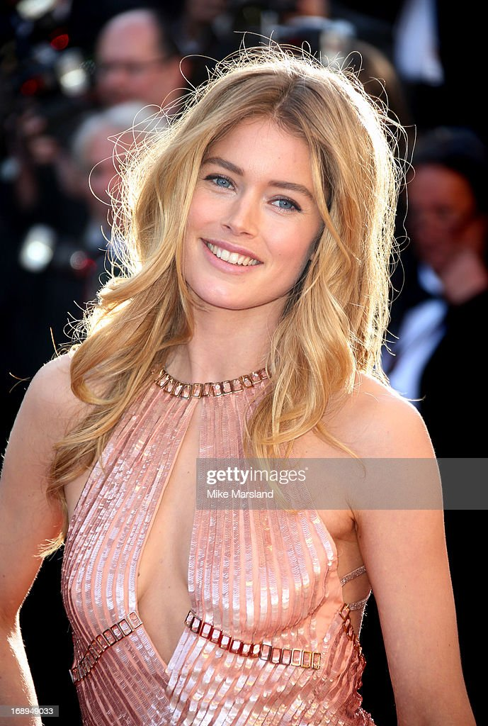 Doutzen Kroes attends the Premiere of 'Le Passe' (The Past) at The 66th Annual Cannes Film Festival on May 17, 2013 in Cannes, France.