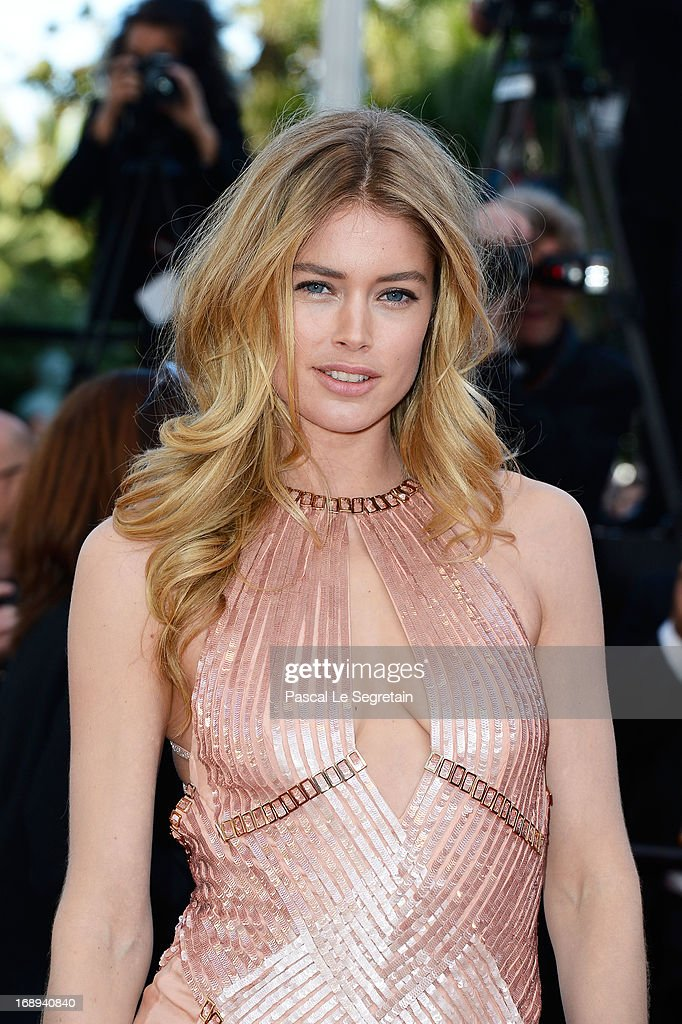 Doutzen Kroes attends the Premiere of 'Le Passe' (The Past) during The 66th Annual Cannes Film Festival at Palais des Festivals on May 17, 2013 in Cannes, France.