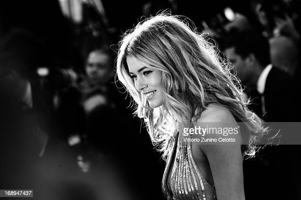 Doutzen Kroes attends the Premiere of 'Le Passe' during The 66th Annual Cannes Film Festival at Palais des Festivals on May 17 2013 in Cannes France