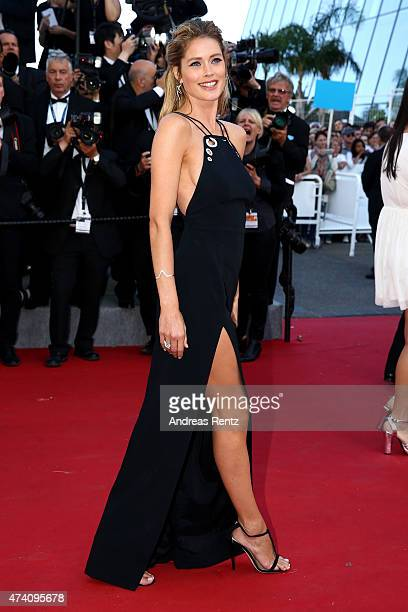 Doutzen Kroes attends the Premiere of 'Youth' during the 68th annual Cannes Film Festival on May 20 2015 in Cannes France