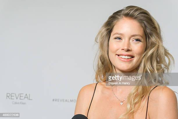 Doutzen Kroes attends the REVEAL Calvin Klein Fragrance Launch at 4 World Trade Center on September 8 2014 in New York City