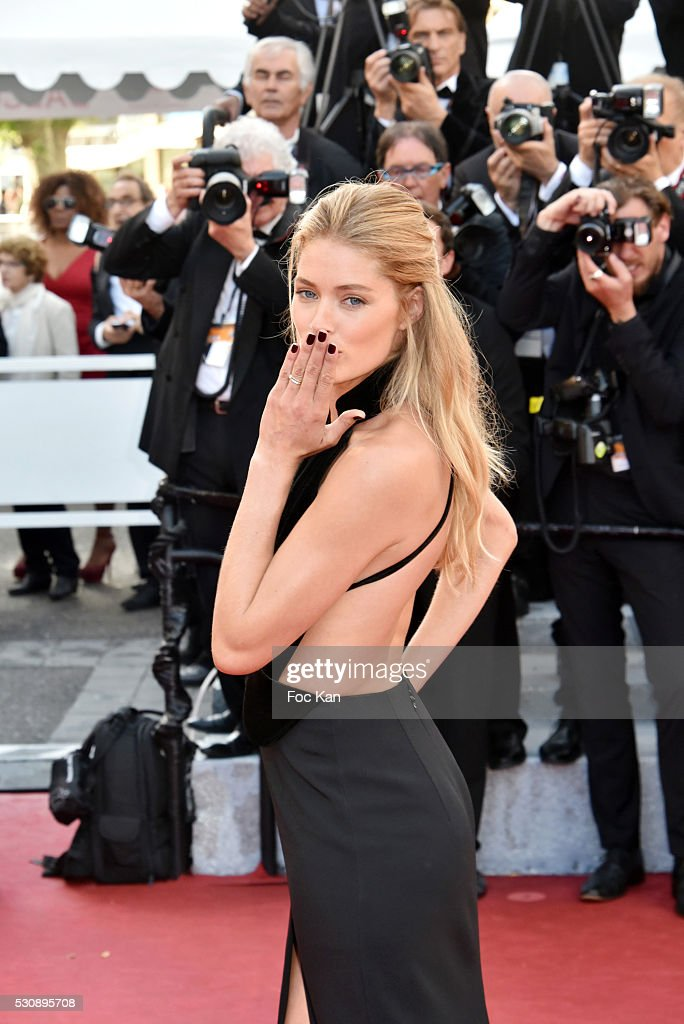 Doutzen Kroes attends the screening of 'Cafe Society' at the opening gala of the annual 69th Cannes Film Festival at Palais des Festivals on May 11, 2016 in Cannes, France.