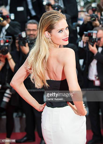 Doutzen Kroes attends the 'Sicario' Premiere during the 68th annual Cannes Film Festival on May 19 2015 in Cannes France