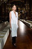 Doutzen Kroes attends the Stella McCartney show as part of the Paris Fashion Week Womenswear Fall/Winter 2016/2017 on March 7 2016 in Paris France