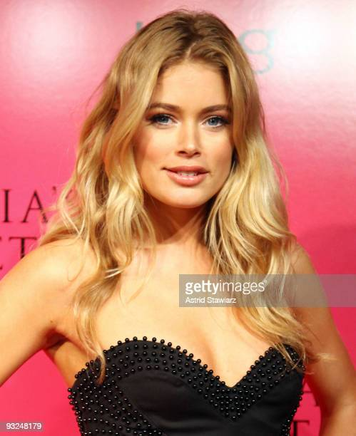 Doutzen Kroes attends the Victoria's Secret fashion show after party at M2 Ultra Lounge on November 19 2009 in New York City
