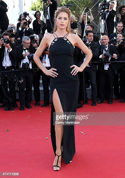 Doutzen Kroes attends the 'Youth' Premiere during the 68th annual Cannes Film Festival on May 20 2015 in Cannes France
