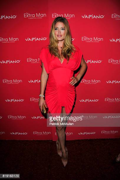 Doutzen Kroes attends Vapiano hosts the New York Premiere of THE EXTRA MAN red carpet arrivals and afterparty at Village East Cinema and Vapiano NYC...