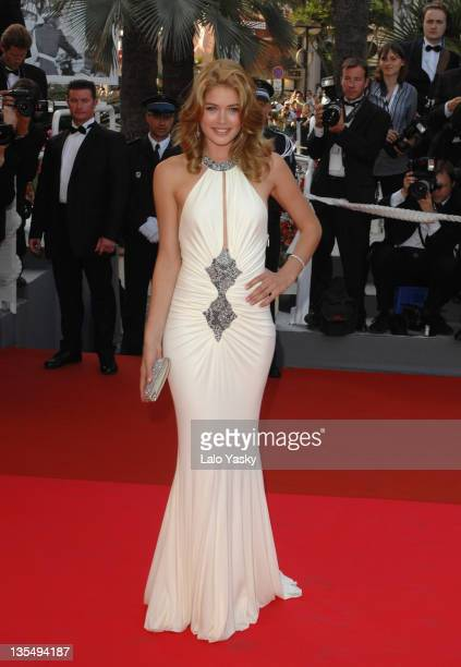 Doutzen Kroes during 2007 Cannes Film Festival 'No Country for Old Men' Premiere at Palais des Festival in Cannes France
