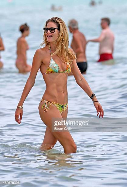 Doutzen Kroes is seen on August 16 2012 in Miami Florida