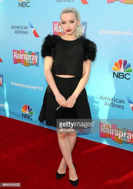 Dove Cameron attends NBC's 'Hairspray Live' FYC event on June 09 2017 in North Hollywood California