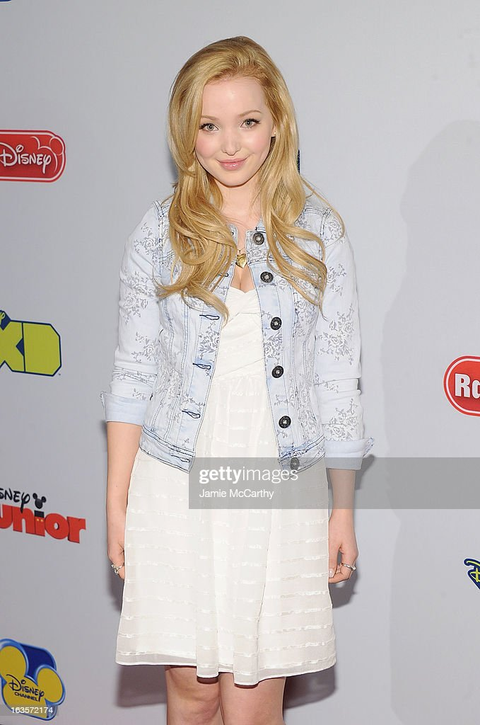 Dove Cameron attends the Disney Channel Kids Upfront 2013 at Hudson Theatre on March 12, 2013 in New York City.