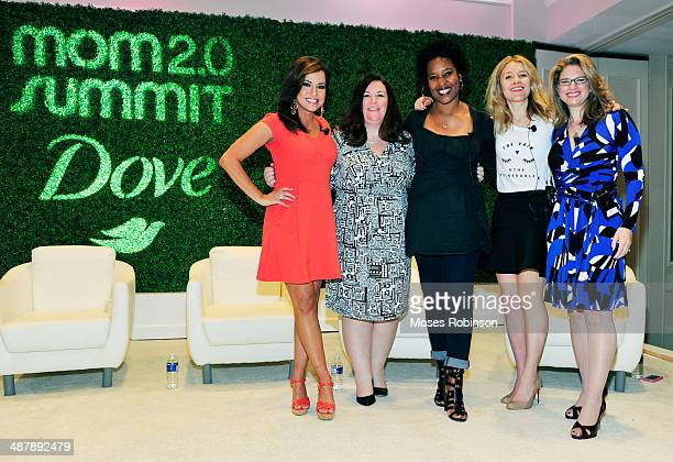 Dove hosts a keynote panel conversation on beauty and confidence with Robin Meade Jennifer Bremner Karen Walrond Pippa Lord and Dr Robyn Silverman...