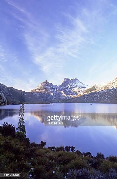 dove lake, cradle mountain national park, tasmania
