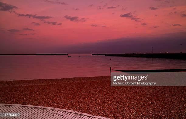 Dover sunset