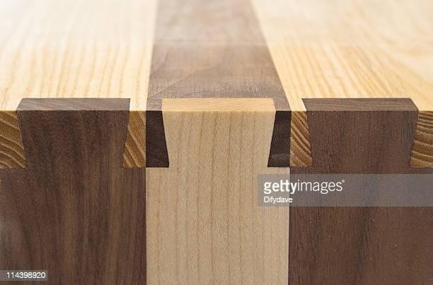 Dovetailed bien-décoration en bois font concorder les articulations