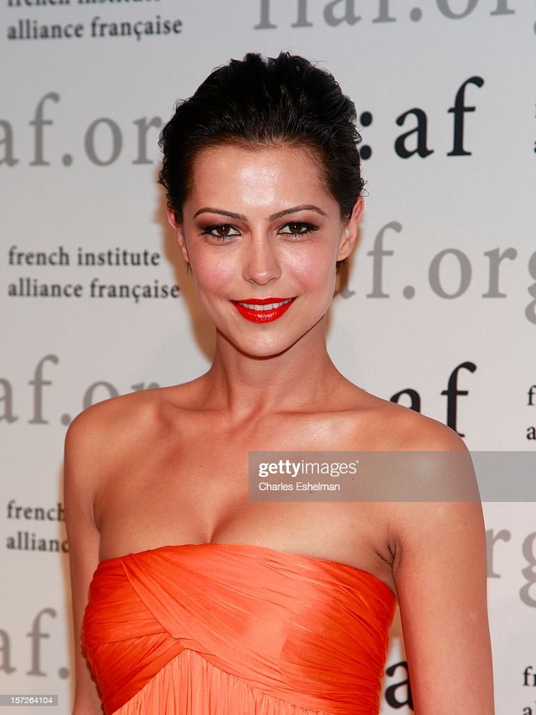 Dovile Drizyte attends the 2012 Trophee Des Arts gala at The Plaza Hotel on November 30, 2012 in New York City.