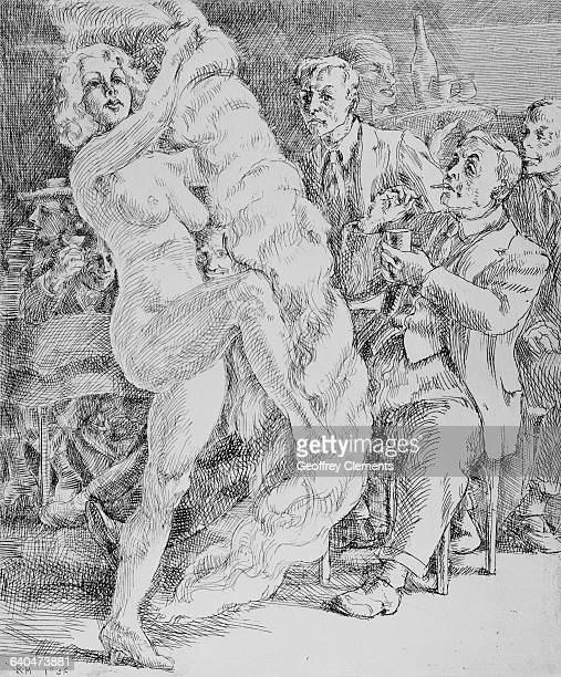 Down at Jimmy Kelly's by Reginald Marsh