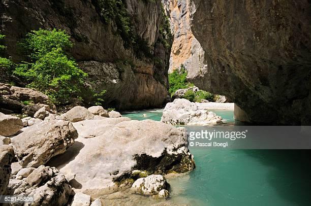 Down in the Verdon Gorge