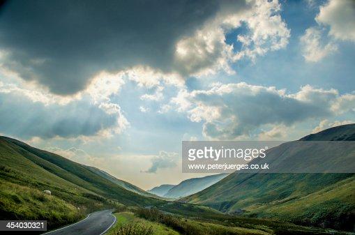 Down into the Elan Valley